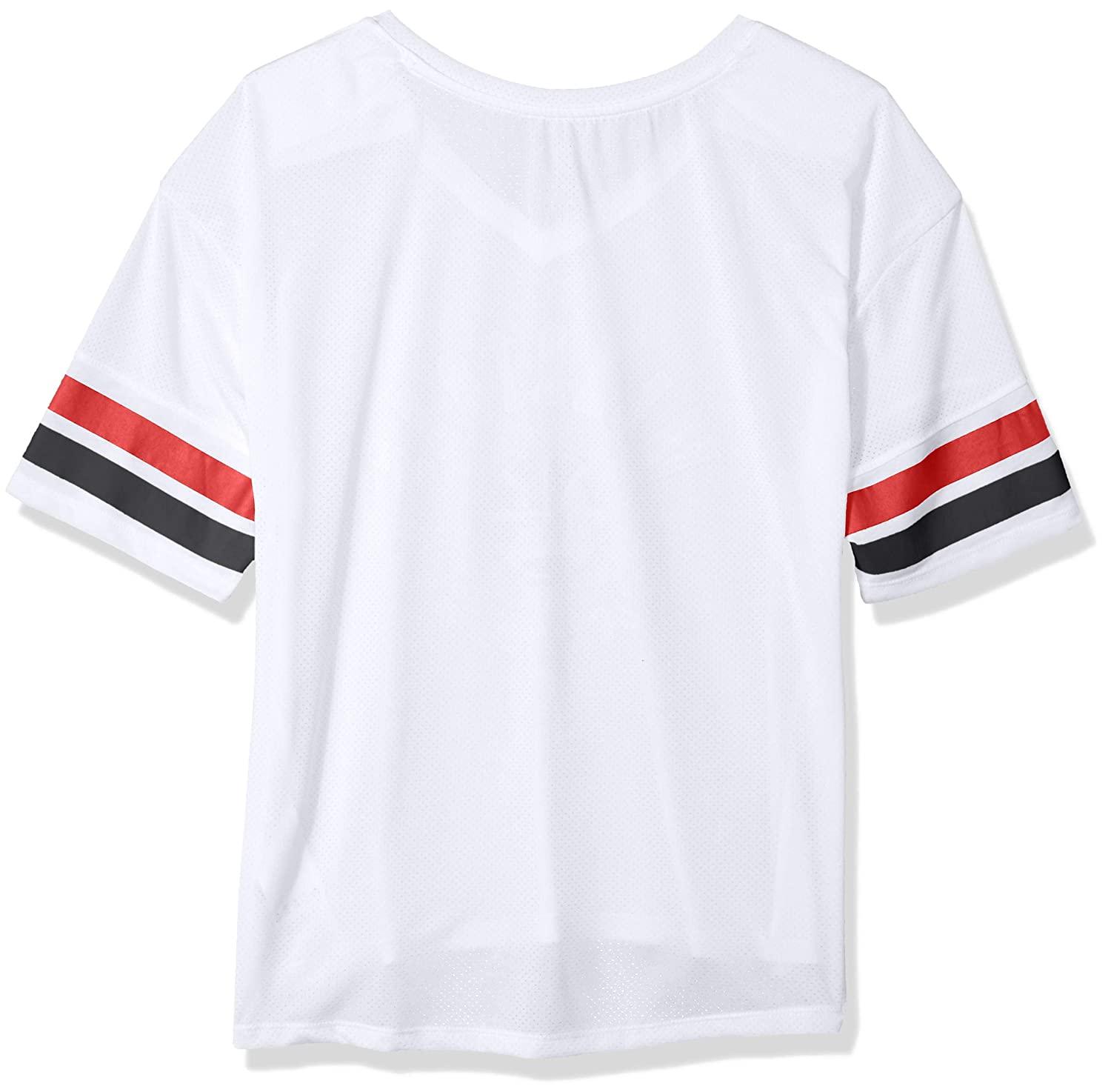 NBA by Outerstuff NBA Juniors Chicago Bulls Mesh Blocker Short Sleeve Top 11-13 Large White