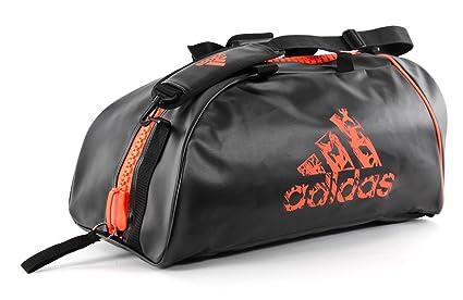 8ea1268549e9 Amazon.com  adidas Black Orange Combat Backpack Duffle  Sports ...