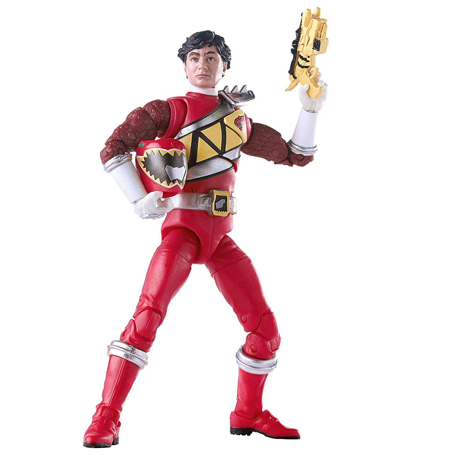 Hasbro Power Rangers Lightning Collection 6-Inch Dino Charge Red Ranger Collectible Action Figure