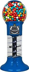 "Gumball Machine for Kids - 27"" Blue Home Vending Machine - Candy Dispenser - Bubble Gum Machine for Kids - Bubblegum Machine - Gum Ball Machine Without Stand"
