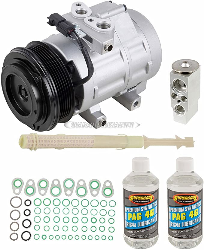 Ford Lobo 2001-2017 Ford F-250 F-350 2008 2009 Ford F-150 2007 2008 2009 2010 GEGOCOMP Remanufactured AC Compressor Replacement for Ford Expedition 2007 2008 2009 2010 2011 2012 2013 2014