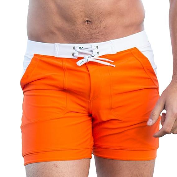 17c484e3a4ace Taddlee - Slip - Homme Orange: Amazon.fr: Vêtements et accessoires