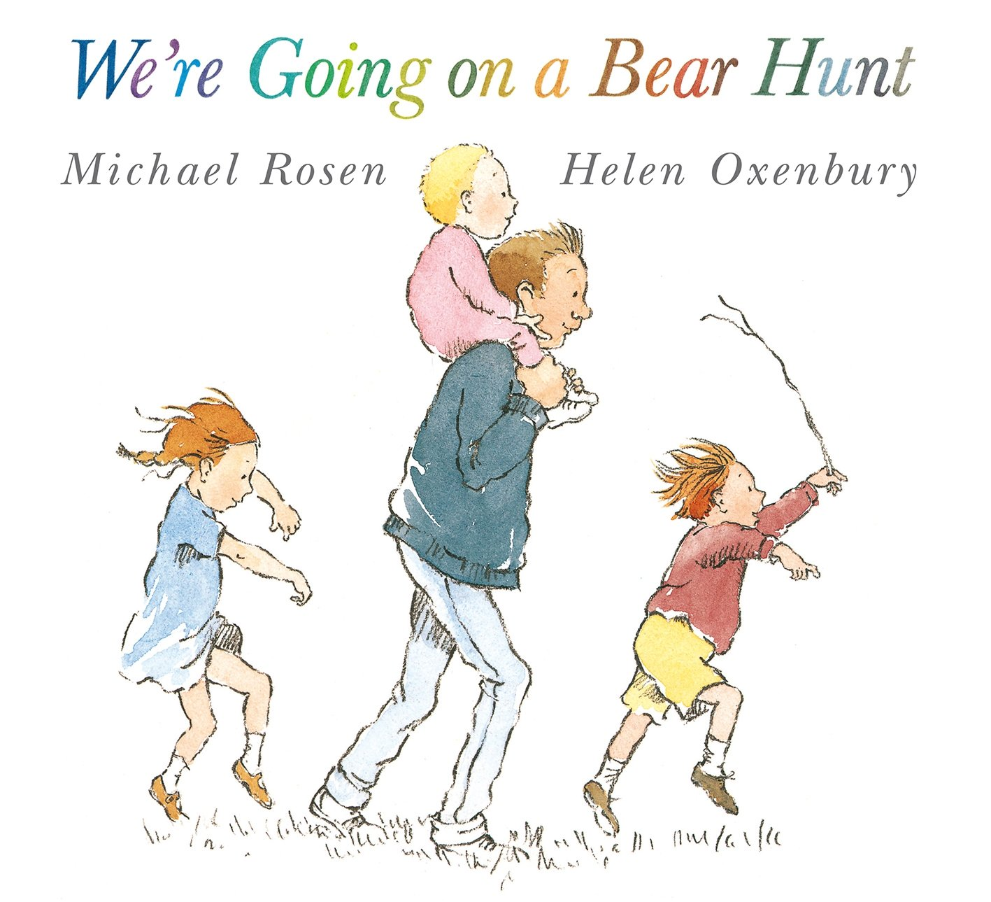 「we're going on a bear hunt book」の画像検索結果