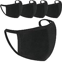 5 Pack Protect Cover Bandana Balaclavas   Katoen Anti-stof Mondkap Gezichtsmasker   Voor Mannen & Vrouwen   2-laags…