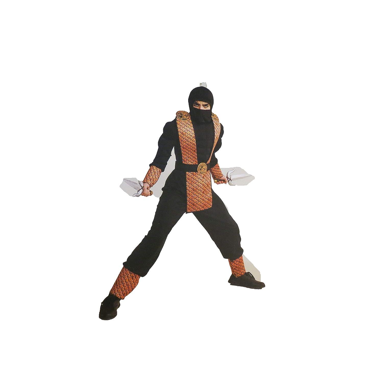 Amazon.com: Hyde & Eek Fearless Force Ninja Costume Boys ...