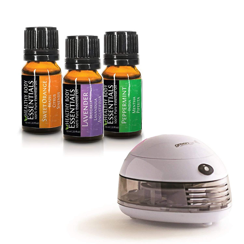 Amazon.com: Healthy Body Essential Oils with Car Diffuser