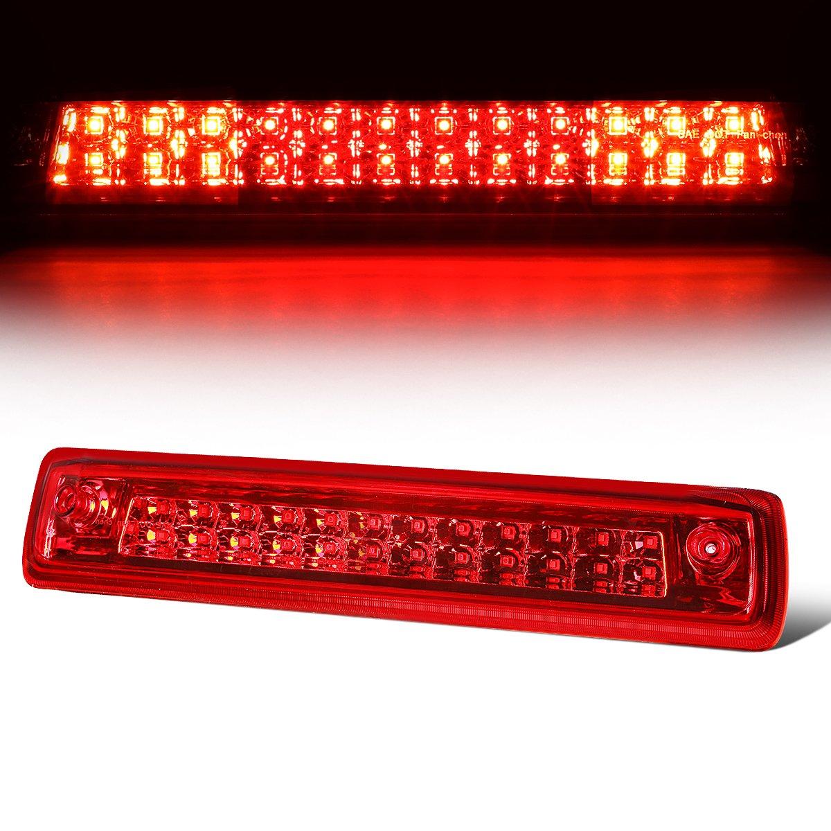 For Chevy Colorado/GMC Canyon Black Housing Smoke Lens LED High Mount 3rd Brake Light Lamp Auto Dynasty
