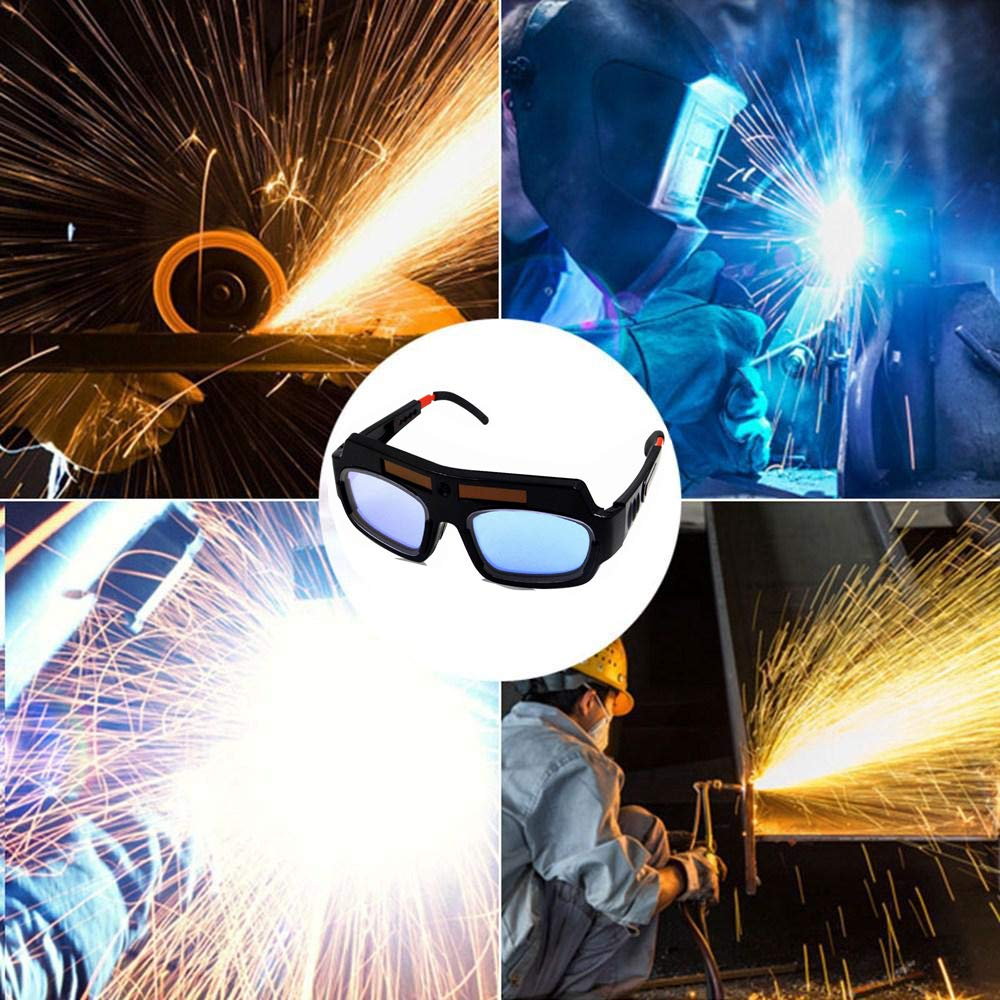 LETBUY Welding Glasses Mask Helmet Eyes Goggles, Solar Auto Darkening Welding Goggle Safety Protective Eyes Goggle, Professional PC Lens Welder Soldering Mask Anti-Flog Anti-Glare Goggles by LETBUY-Tech (Image #5)