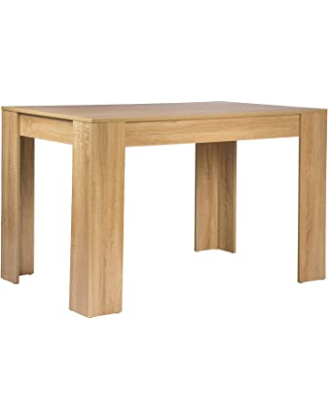 e2443596b2eb9c WOLTU TSG18hei Table à manger en bois Table de cuisine Table Bureau Table  de travail 120x80x75