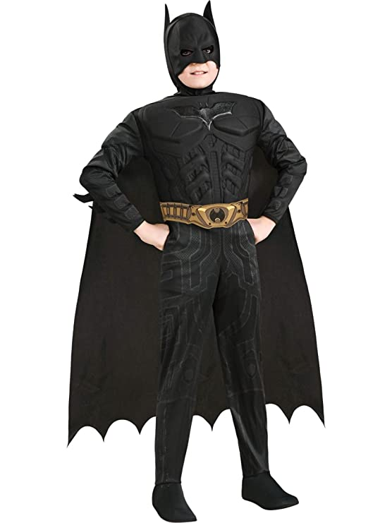 Rubies Costume Co Deluxe Muscle Chest Batman Costume, Toddler, Toddler
