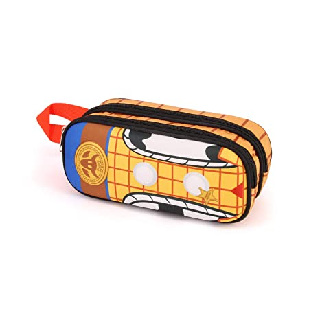 Karactermania Toy Story Woody-Estuche Portatodo 3D Doble ...