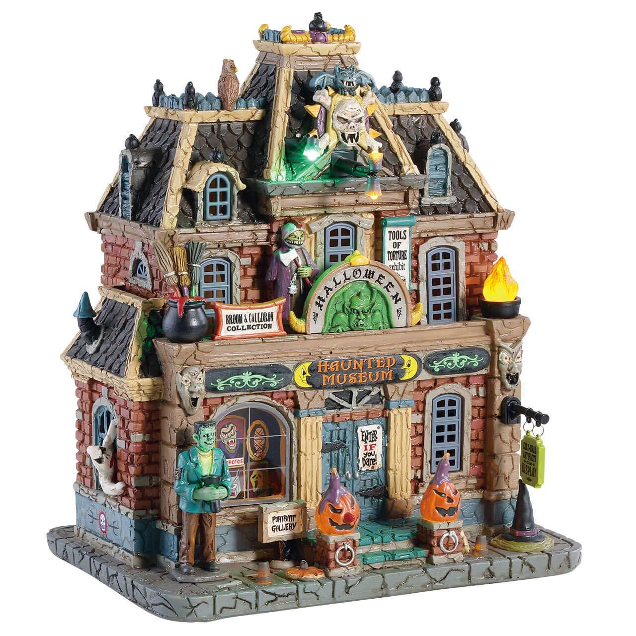 Lemax Halloween Village Haunted Museum #85304