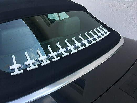 Mm Custom Solution Cabrio Verdeck Scheiben Reparatur Set Heckscheibe Auto