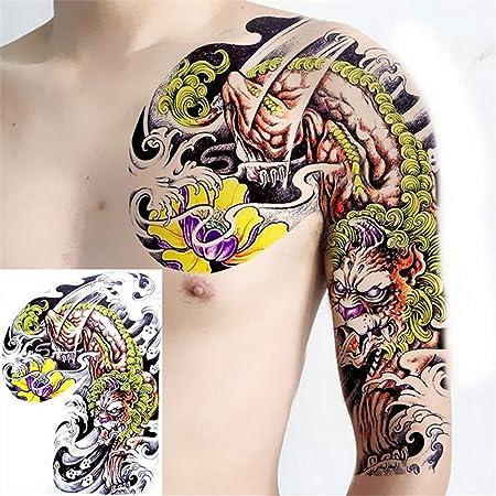 3 Unids-tatoo hombres grandes tatuajes del hombro de los niños ...