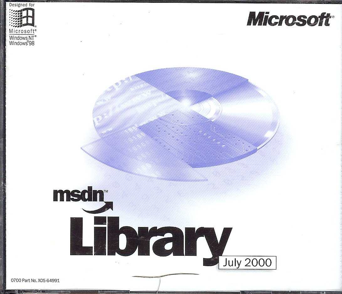 Msdn Library July 2000 - Amazon com Music