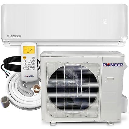 amazon com pioneer air conditioner minisplit heatpump 24000 btu