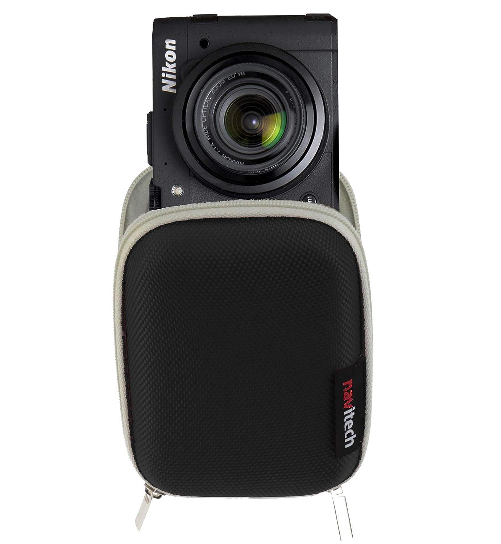 Navitech ブラック防水ハードデジタルカメラケースカバー Nikon Coolpix A10 B07JQQJF6R