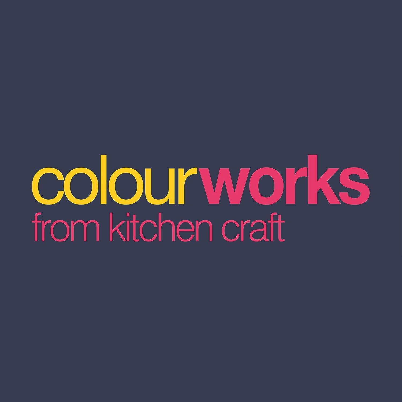 Klassisches Grau Silikon 2.5 x 8.5 x 29 cm Kitchen Craft Colourworks Multi Pasta Servierer//Spaghetti Messl/öffel