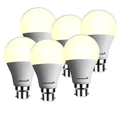 6 Lampaous® W Lot B22 De Led 12 Ampoule A60 À Bc Lampe Gls LUGjpMSVqz