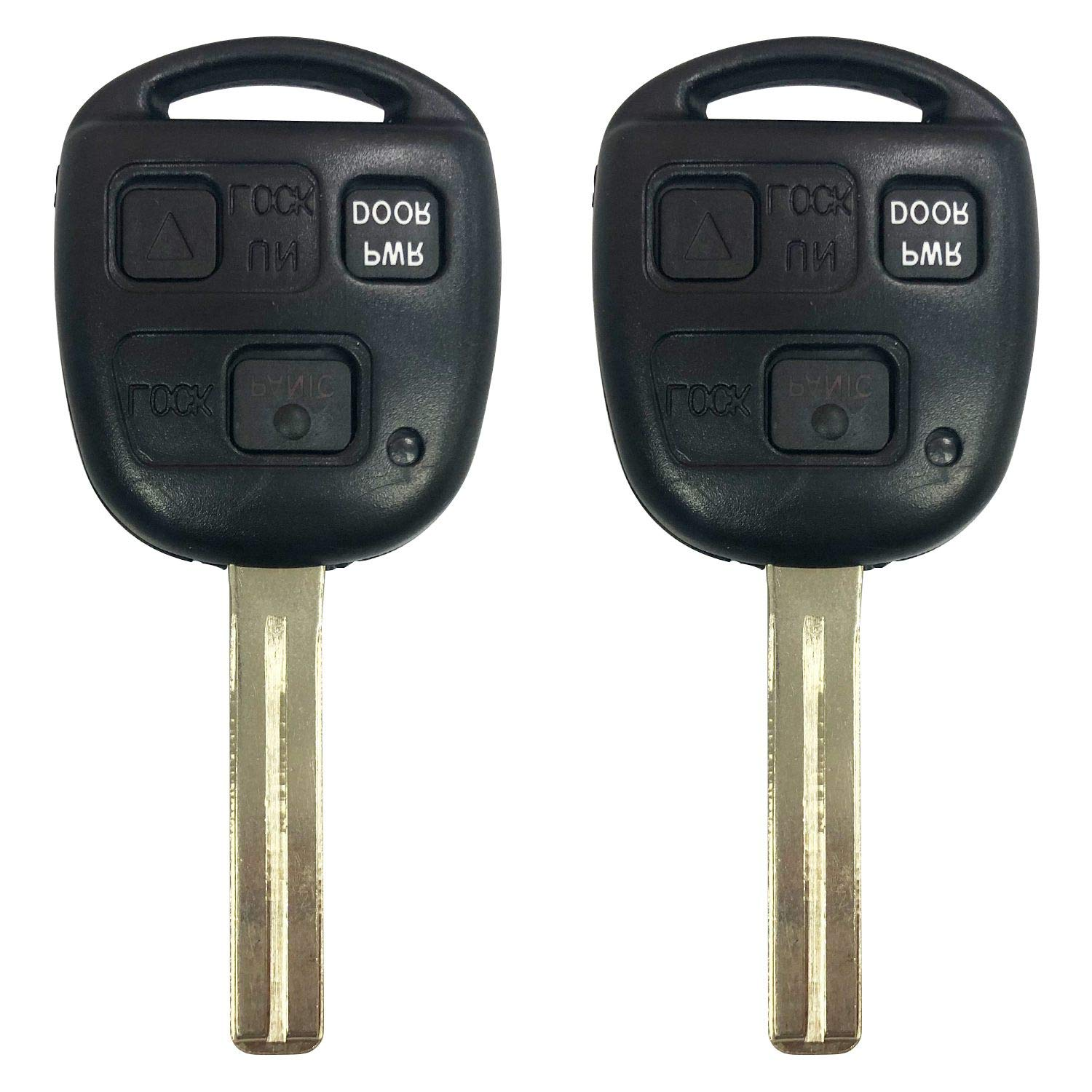 New Replacement for Lexus 2004 2005 2006 RX330 2007 2008 2009 RX350 Remote Key Fob,FCCID:HYQ12BBT,by AUTOKEYMAX (PAIR)