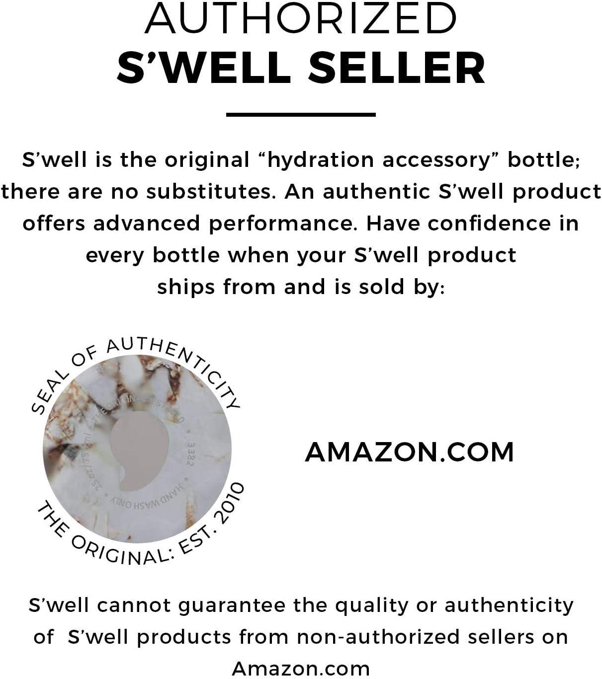 Bianco Swell Calacatta Bottiglia Termo Acciaio 6 x 6 x 25 cm