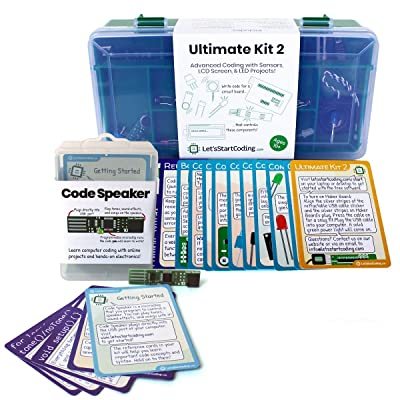 Bundle Ultimate Coding Kit 2 (2020 Edition) + Code Speaker | STEM Toys for Kids 8-12 | Bundle and Save!: Toys & Games