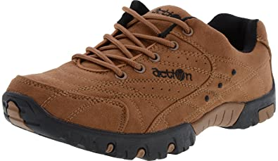 Synthetic Brown Casual Shoes