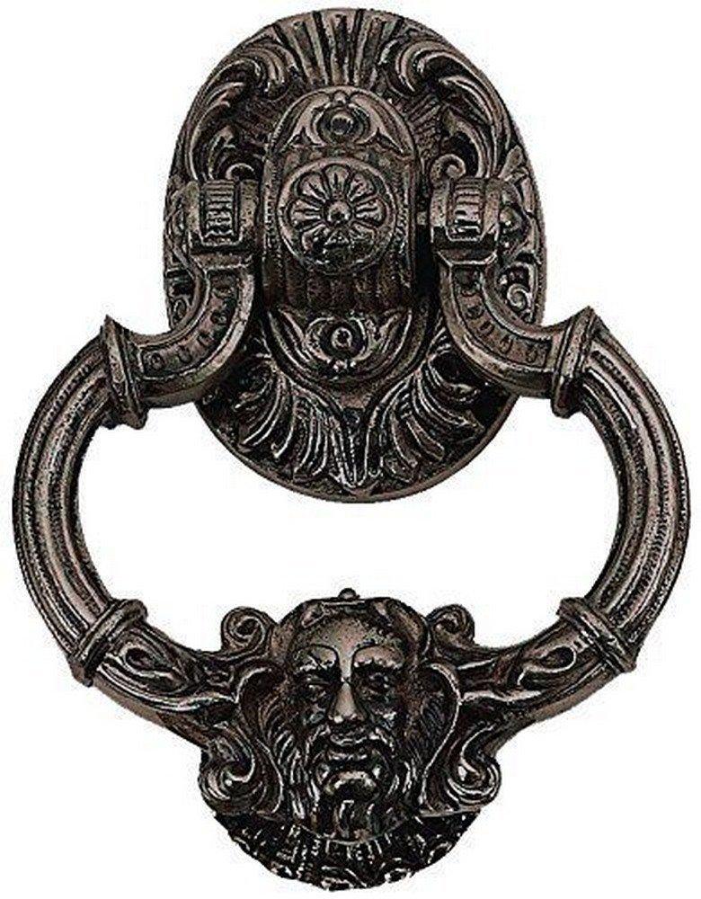 BRASS Accents A04-K5060-613VB 7.375'' Neptune Large Door Knocker, Venetian Bronze Finish