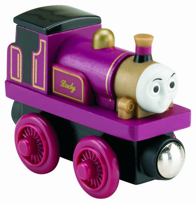 Amazon Thomas Friends Fisher Price Wooden Railway Lady Engine Toys Games