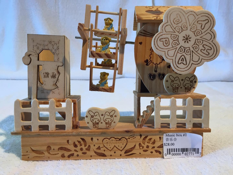 人気の Happy Happy Bear Bear B078L1XWJN Ferrisホイール音楽ボックス B078L1XWJN, シママキムラ:847019e7 --- arcego.dominiotemporario.com