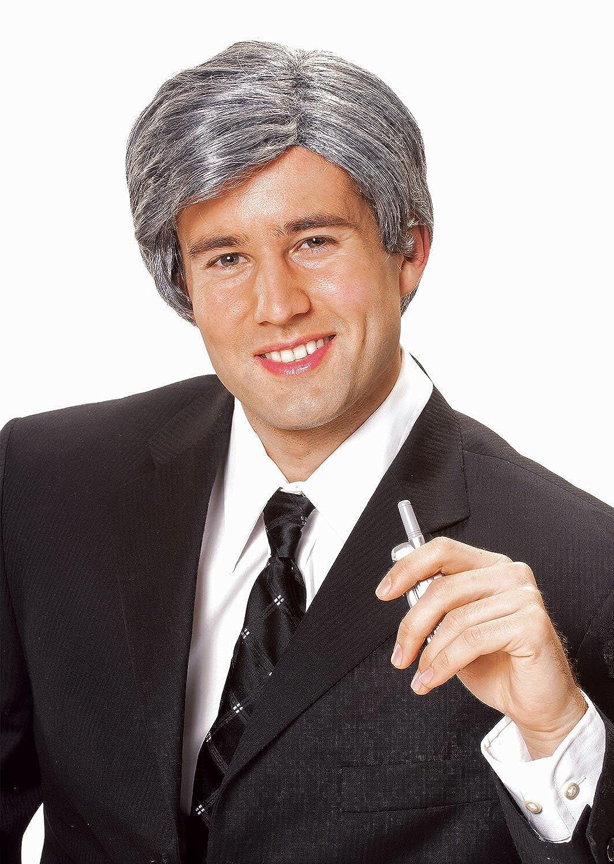 Costume Culture Men's Silver Fox Wig