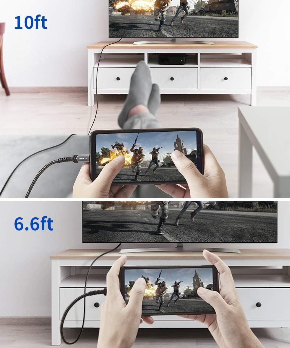 Usb C Auf Hdmi Kabel 3 M Jsaux Typ C Auf Hdmi Kabel Elektronik