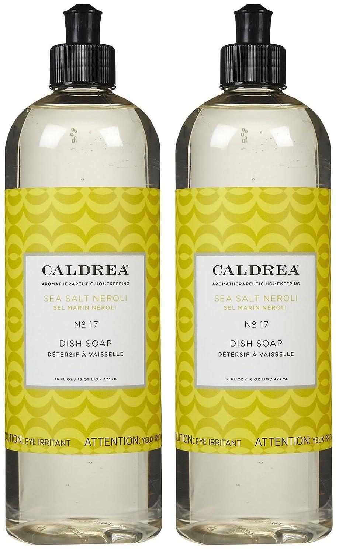 Caldrea Liquid Dish Soap - 16 oz - Sea Salt Neroli - 2 pk CZ-173
