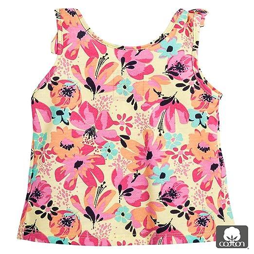 Amazon.com: OFFCORSS Toddler Girl Sleveless Shirts Blouses Camisetas Sin Mangas para Niñas: Clothing