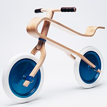 Brum Brum Bicicleta de Equilibrio de Madera para niños Roble: Amazon.es: Juguetes y juegos