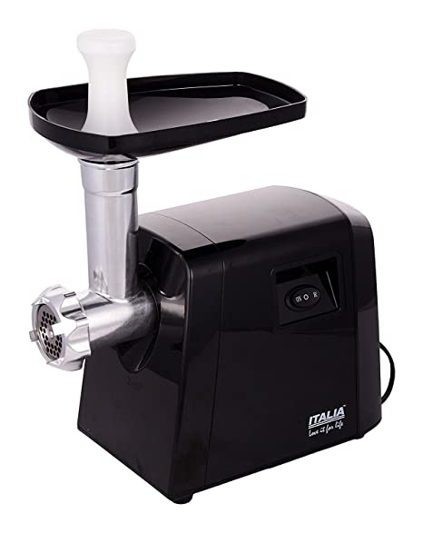 85966d55d5a0 Buy KT Traders ITALIA MEAT GRINDER 1800W(Black) Online at Low Prices in  India - Amazon.in