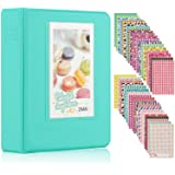 Ablus 64 Pockets Mini Photo Album for Fujifilm Instax Mini 7s 8 8+ 9 25 26 50s 70 90 Instant Camera & Name Card (64…