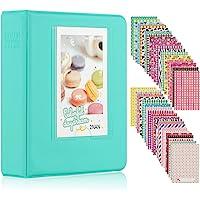 Ablus Store 64 Pockets Mini Photo Album for Fujifilm Instax Mini 7s 8 8+ 9 25 26 50s 70 90 Instant Camera & Name Card