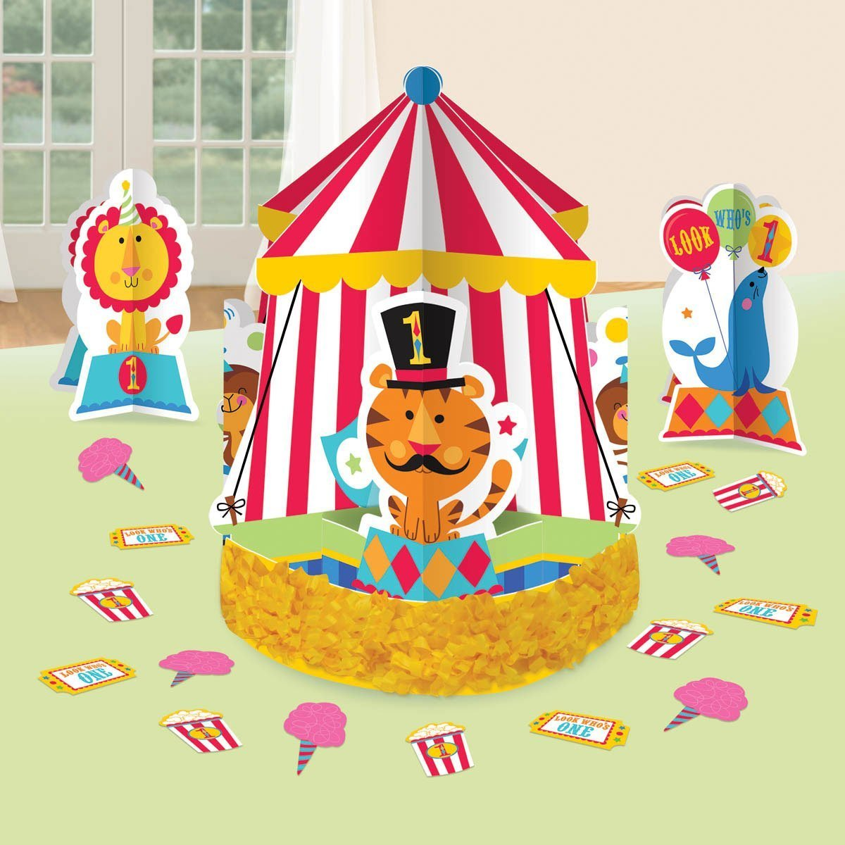 Boys Circus First Birthday Party Supplies Birthday Wikii