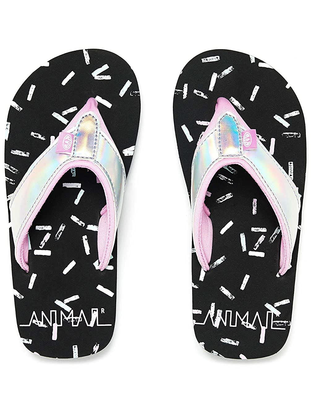 Animal Swish Glitz Girls Sandals