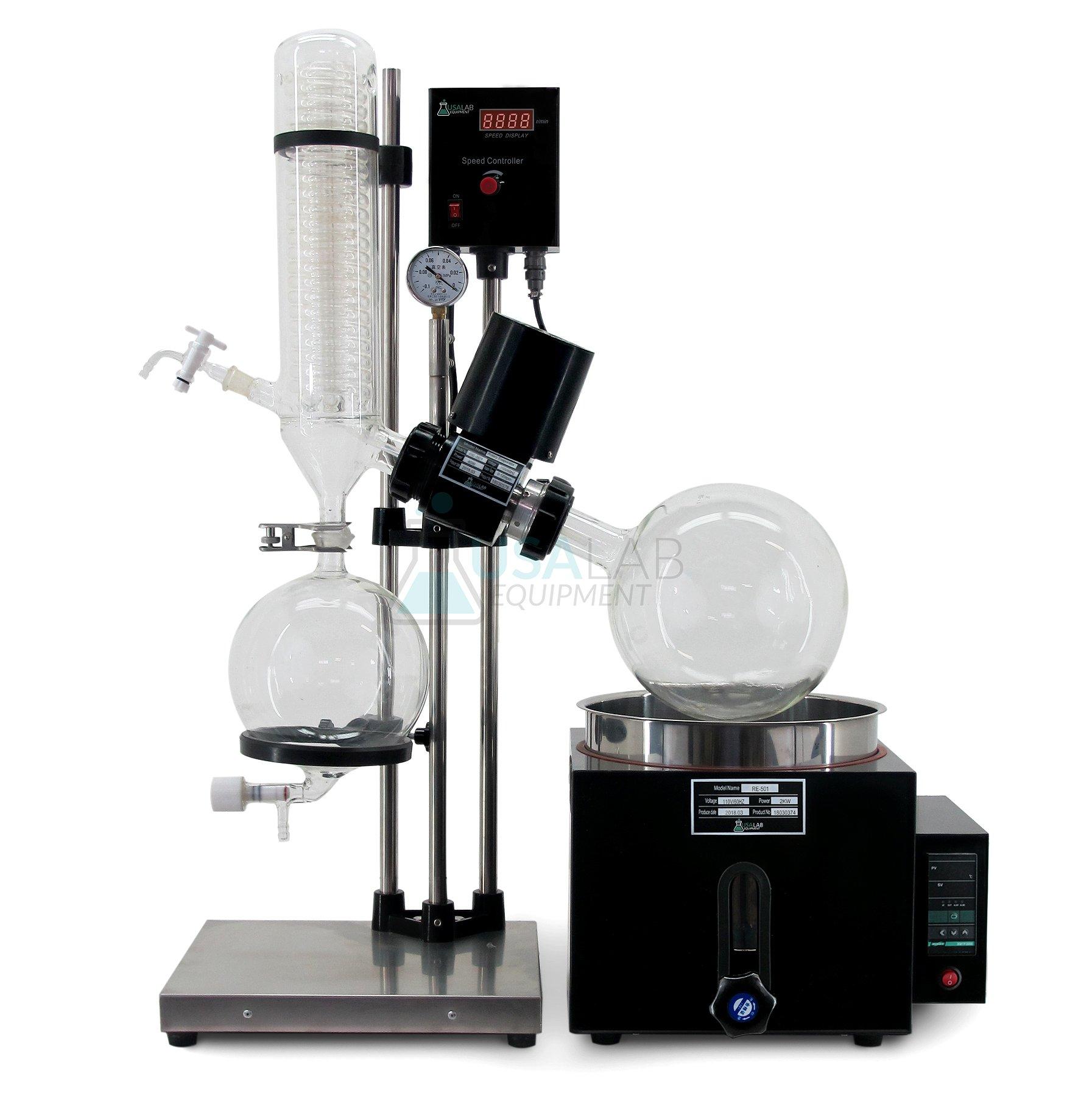 USA Lab 110V 5L Rotary Evaporator RotoVap RE-501-180°C by USA Lab Equipment