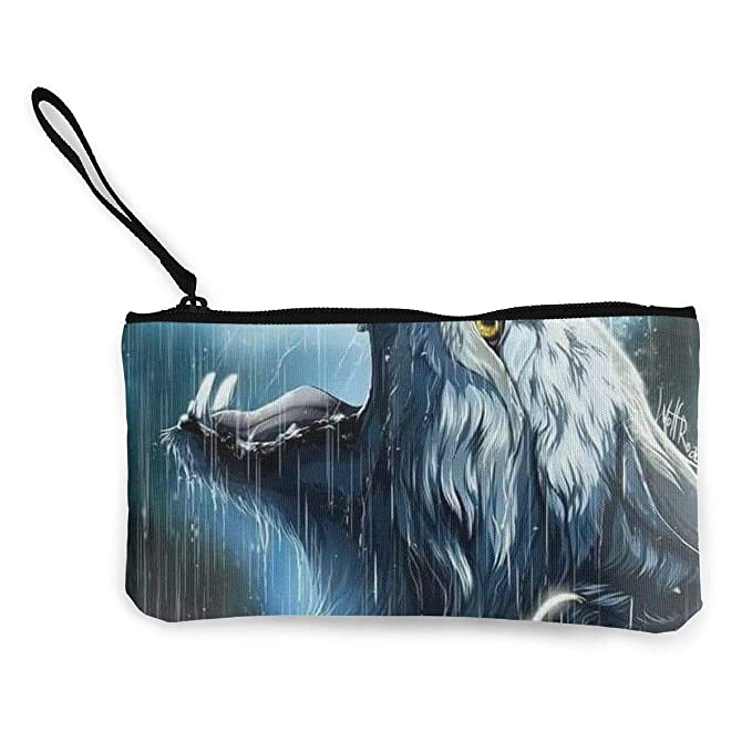 Amazon.com: Wolf in the Rain - Bolso de mano para ...