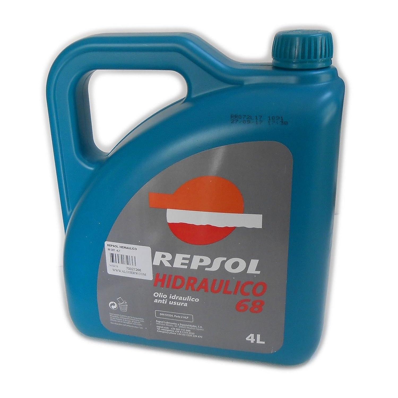 Repsol HIDRAULICO 68 CRT 4lt olio idraulico anti usura per macchine industriali Repsol S.A.