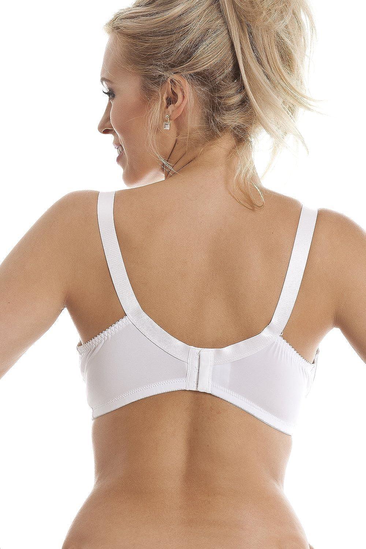 Camille - Sujetador para mastectomía sin aros - Sujeción total - blanco: Amazon.es: Ropa y accesorios