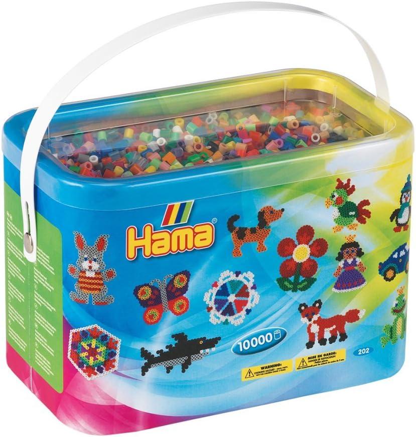 10000 Midi Beads en cubo [48 colores]: Amazon.es: Juguetes y juegos