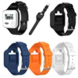 TenCloud Accessory Wristband Replacement Compatible GolfBuddy Voice,Voice 2,Voice + Golf GPS Rangefinder,Soft Silicone Strap Band Fit Golf Buddy Voice Series GPS