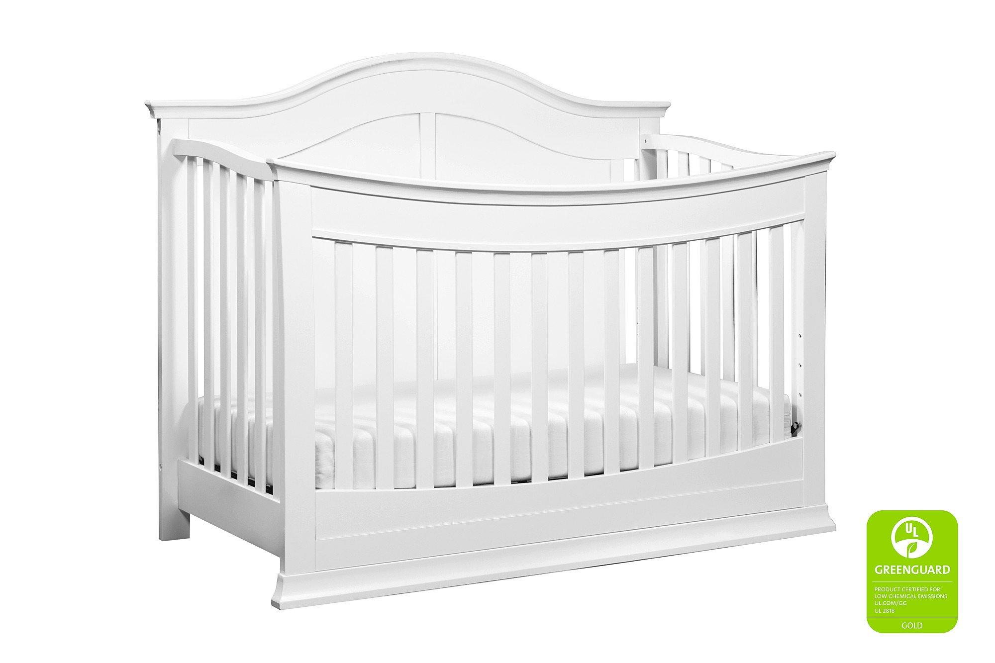 Davinci Meadow 4-in-1 Crib Full Size Conversion Kit Bed Rails - White