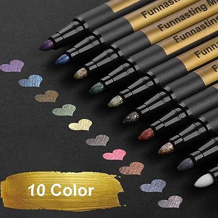 Un Ensemble de 12/pcs indien fait main Home D/écoration utile Bleu stylos 12,7/cm Multi Couleur