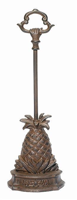Nice Cast Iron Pineapple Door Porter ~ Pineapple Doorstop