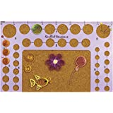 Quilled Creations Circle Template Board, 5-Inch by 8-Inch